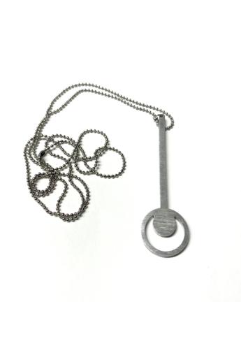 Zemse: Kulcs alumínium nyaklánc