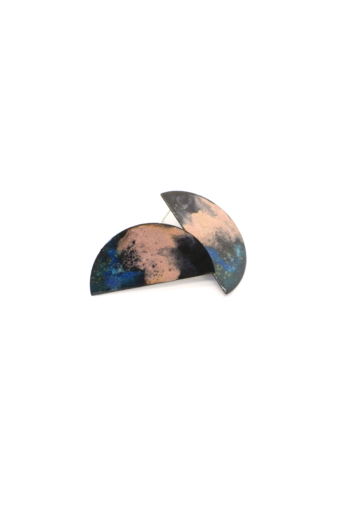 Bakos Natália: Tricolor Heavenly fülbevaló