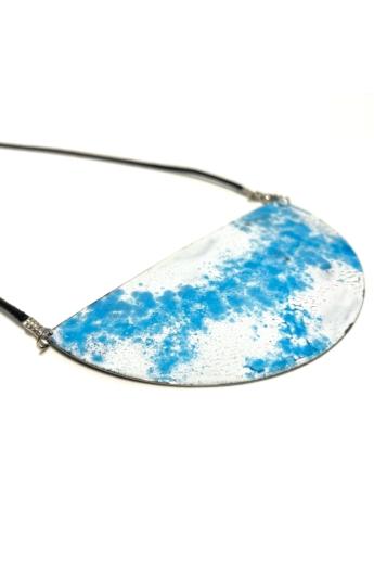 Bakos Natália: Kék nagy Heavenly nyaklánc