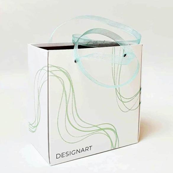ÖKO-papírból készült speciális kialakítású DESIGNART díszdoboz