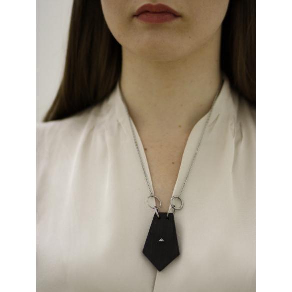 MIKO: Weiko No. 1 fekete nyaklánc