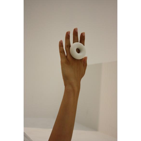 Botos Balázs: Donout Ring White gyűrű