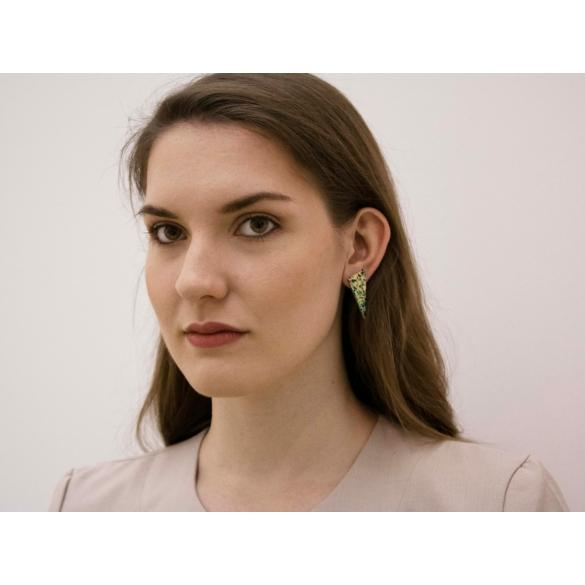 Kinga Horányi: IKIIKI ezüst fülbevaló