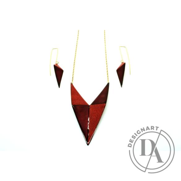 AME Creation: LeDésir / tűzzománc medál