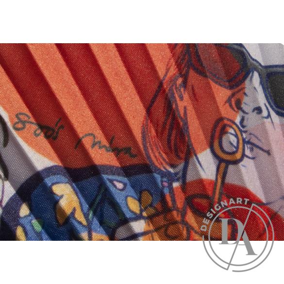 Artfans: Buborékfújó - művészi legyező