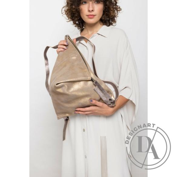 Artista: Delta bőr hátizsák - arany