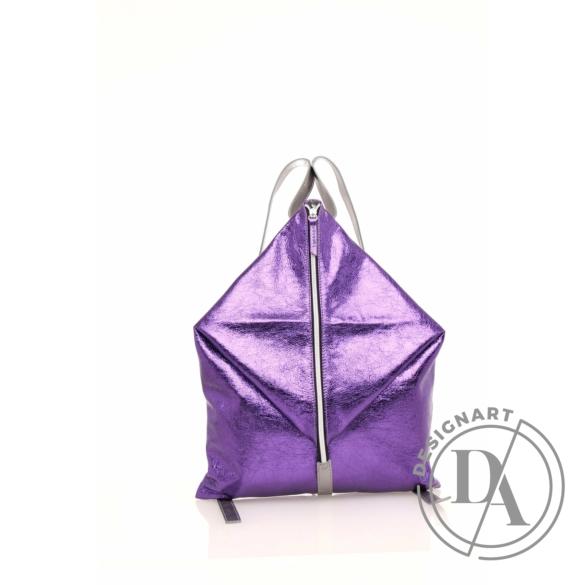 Artista: Delta bőr hátizsák - lila