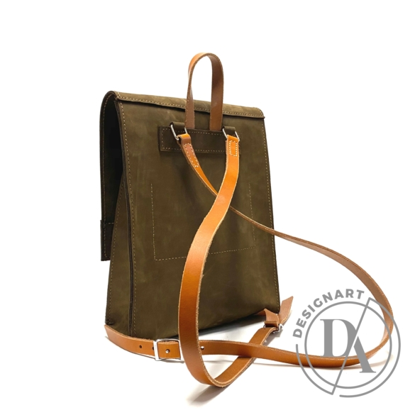 Bőrke: Abernathi  - nubukbőr hátizsák