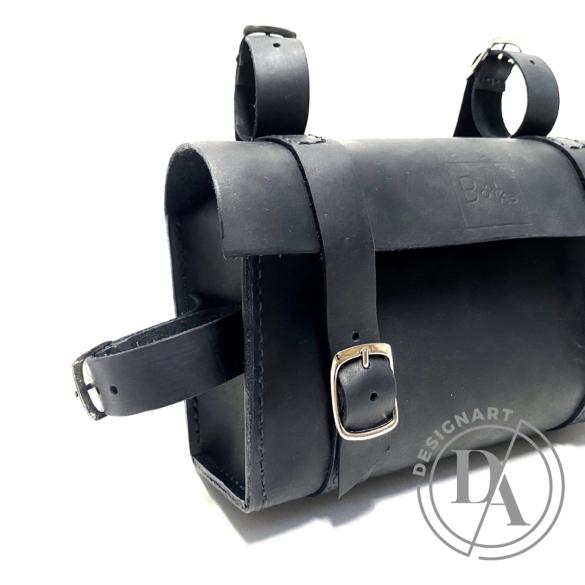 Bőrke: Bud - bőr biciklis táska
