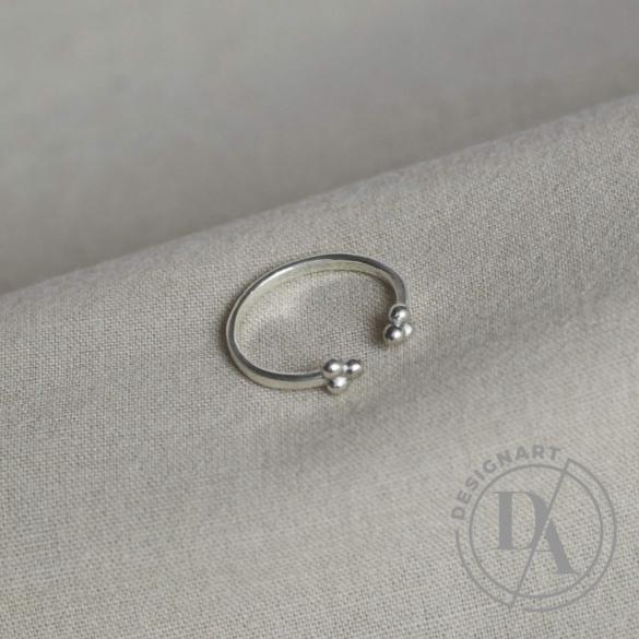 Babushka: Threedots gyűrű