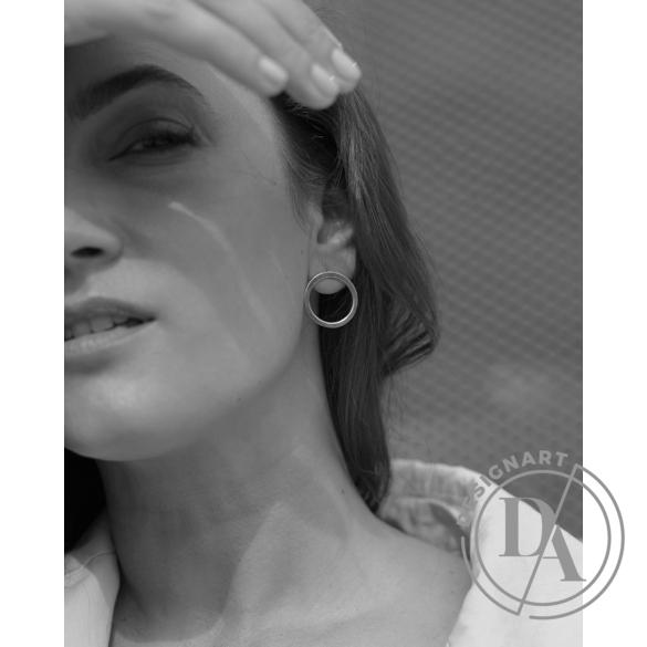Babushka: Circulus fülbevaló közepes / aranyozott