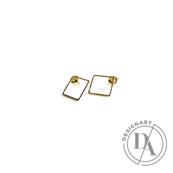 Babushka: Quadra fülbevaló kicsi / aranyozott