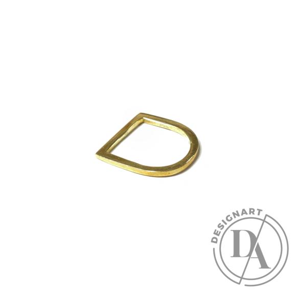 Babushka: Linea gyűrű / aranyozott