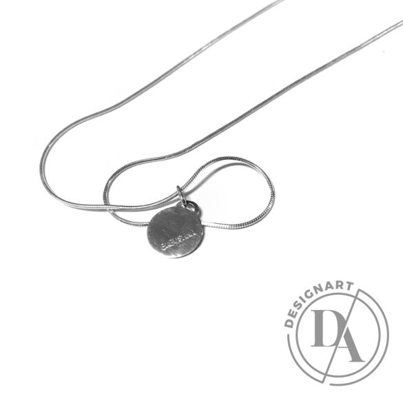 Babushka: Babushka ezüst medál, ezüst lánccal