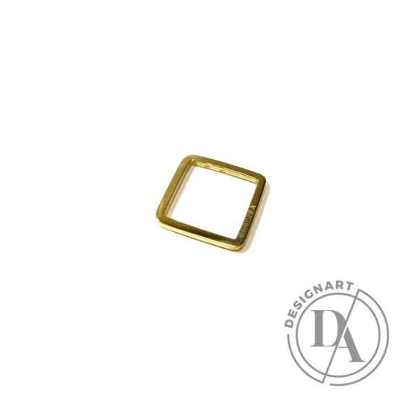 Babushka: Quadra gyűrű / aranyozott