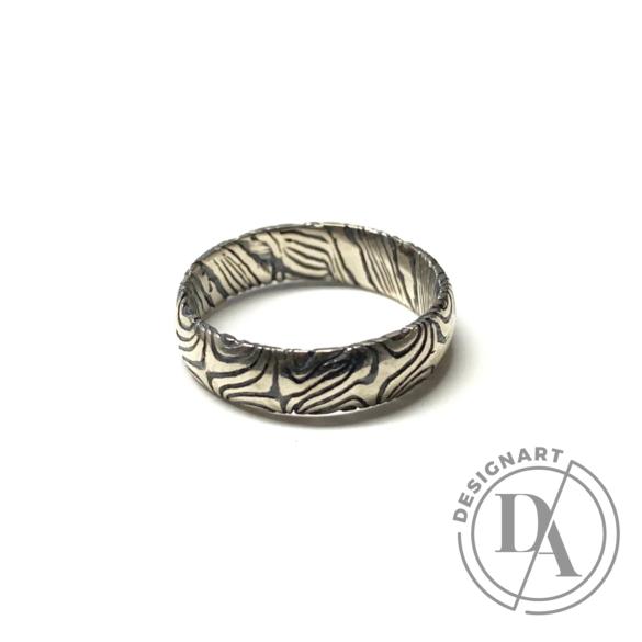 Bajcsi-Nagy Balázs: MOKUME gyűrű n2