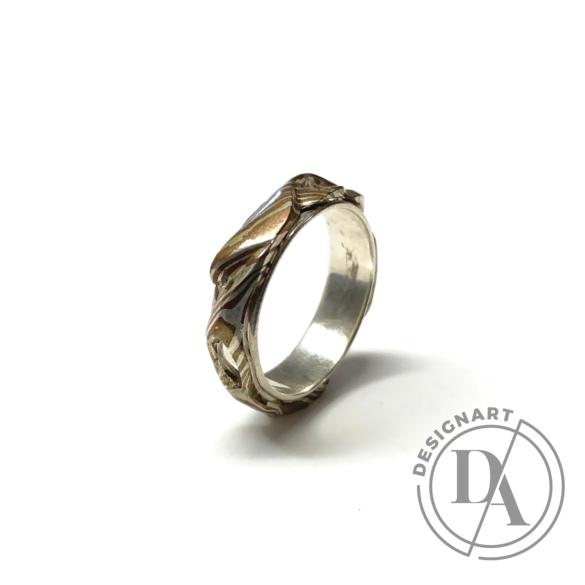 Bajcsi-Nagy Balázs: MOKUME gyűrű n1