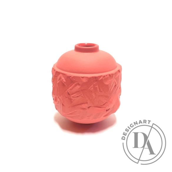 Botos Balázs: Rocky Vase Mini pink
