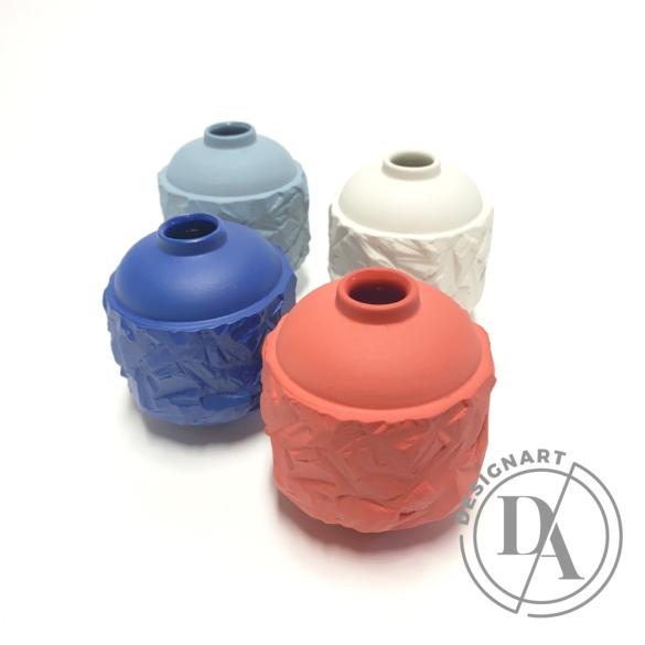 Botos Balázs: Rocky Vase Mini / kék váza