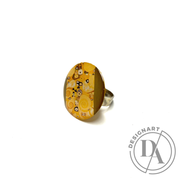 """COTA: Nagy """"Klimt"""" gyűrű"""