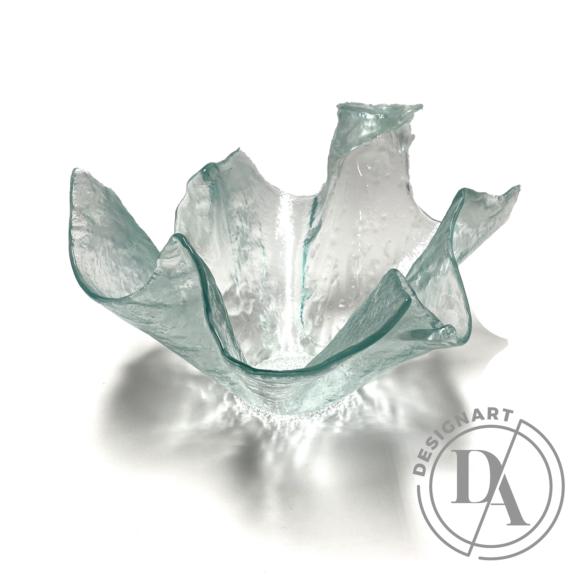 Deák Design: Színtiszta üveg tál