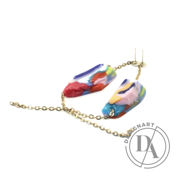 Borbala Design: Láncos fülbevaló n2