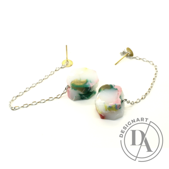 Borbala Design: Láncos fülbevaló n3