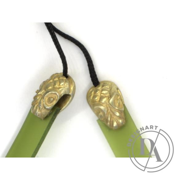 KAO: Kígyós réz karkötő