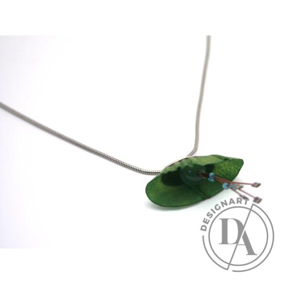 Király Fanni: Kavics zöld nyakék
