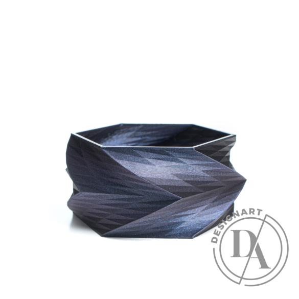 Kiskery Design: Spira karkötő Medium - Indigo