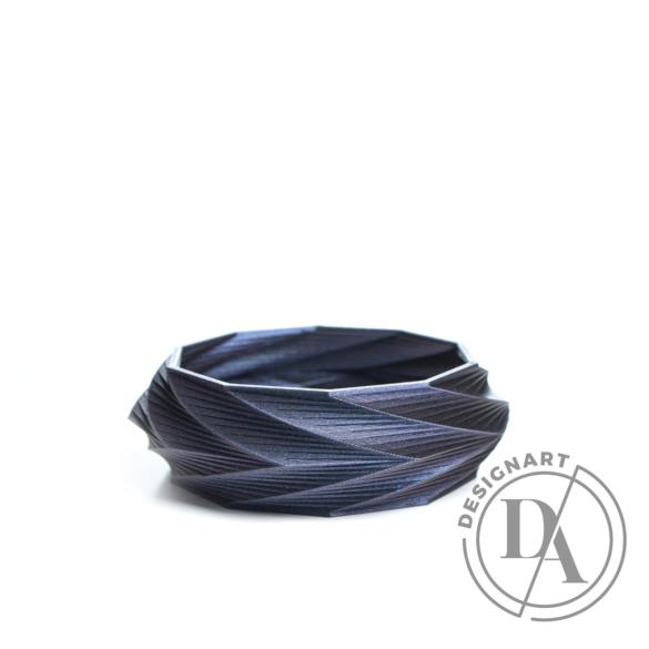 Kiskery Design: Spira karkötő Small - Indigo