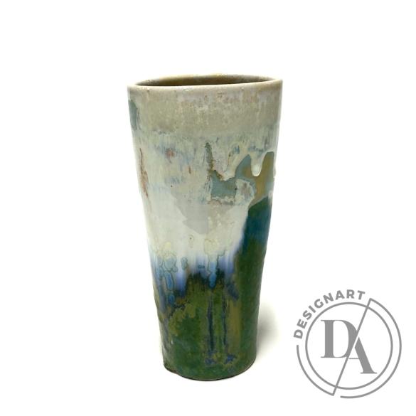 Márta Nóra: Impresszionista váza n1 / magasság 17cm