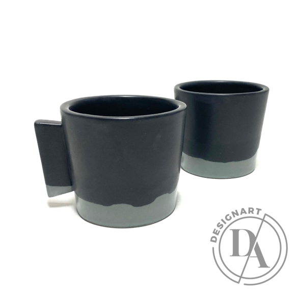 Márta Nóra: Kávéscsésze pár n3 / magasság 7cm