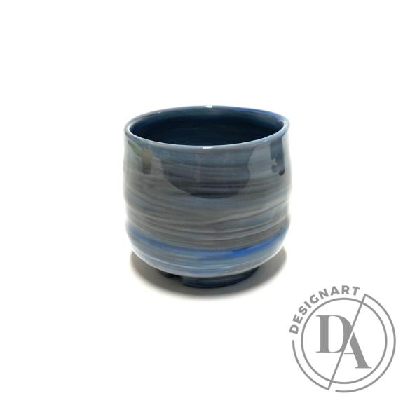 Márta Nóra: Porcelán kávéscsésze n1 / magasság 6cm, ø 6cm
