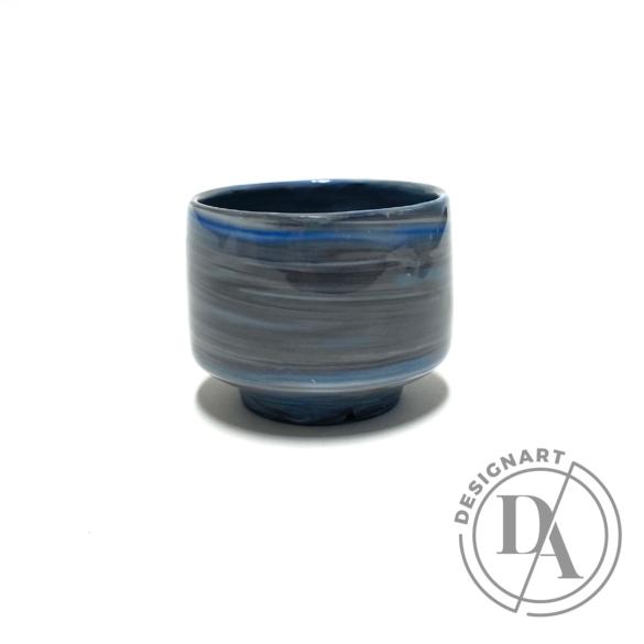 Márta Nóra: Porcelán kávéscsésze n3 / magasság 6cm
