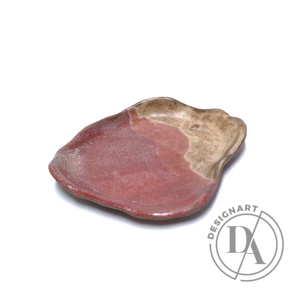 Marék Műhely: Rorschach kicsi kerámia tányér n4 / ø17cm