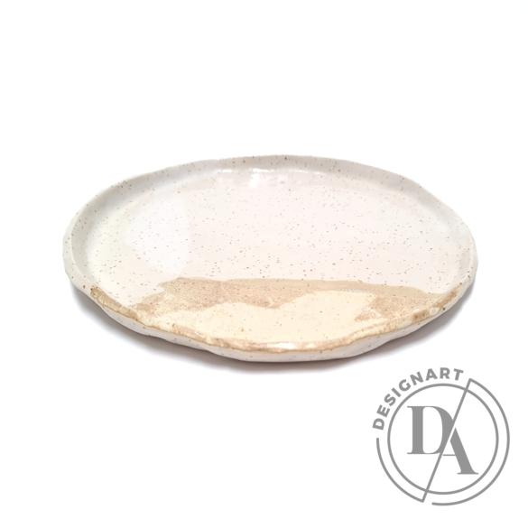 Marék Műhely: Rorschach nagy kerámia tányér n7 / ø24cm