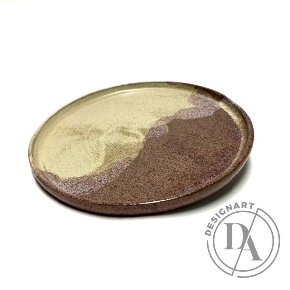 Marék Műhely: Rorschach nagy tányér n5 / ø24cm