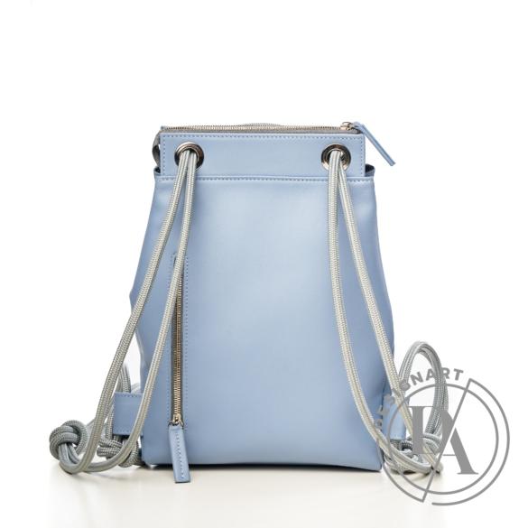NONO: AMINA MINI kék bőrtáska
