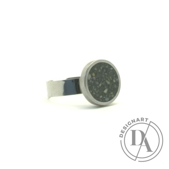 New Accent: Beton gyűrű / zöld