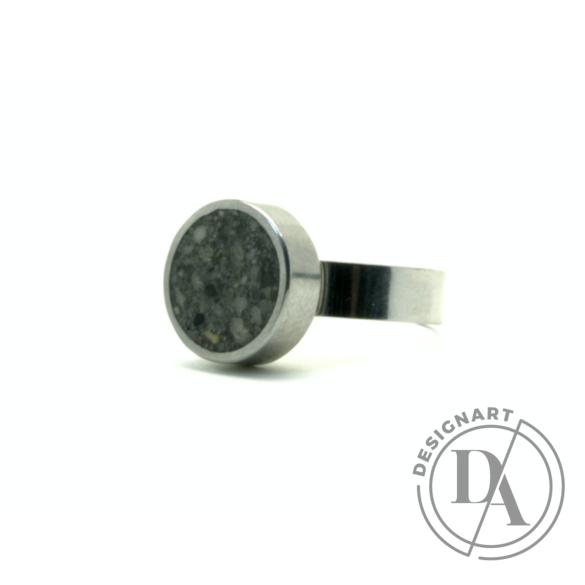 New Accent: Beton gyűrű / sötétzöld