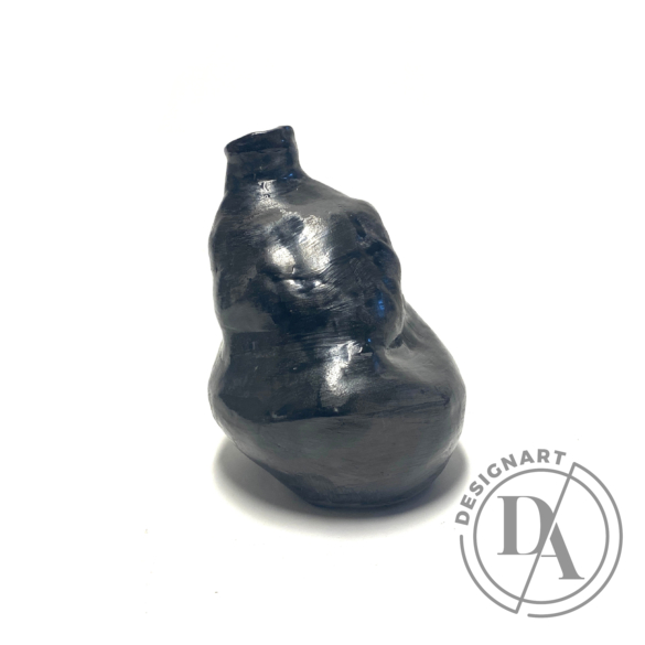 OHO CERAMICS: MÖJ fekete váza