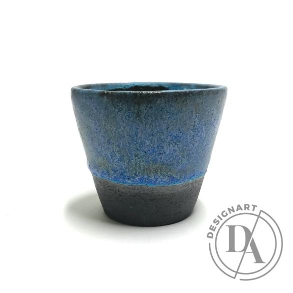 Pastel Ceramics:  Kék ködös készlet 4db / magasság 7cm