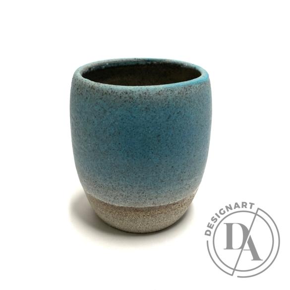 Pastel Ceramics:  Zöld ködös bögre n1 / magasság 9cm, ø 7cm