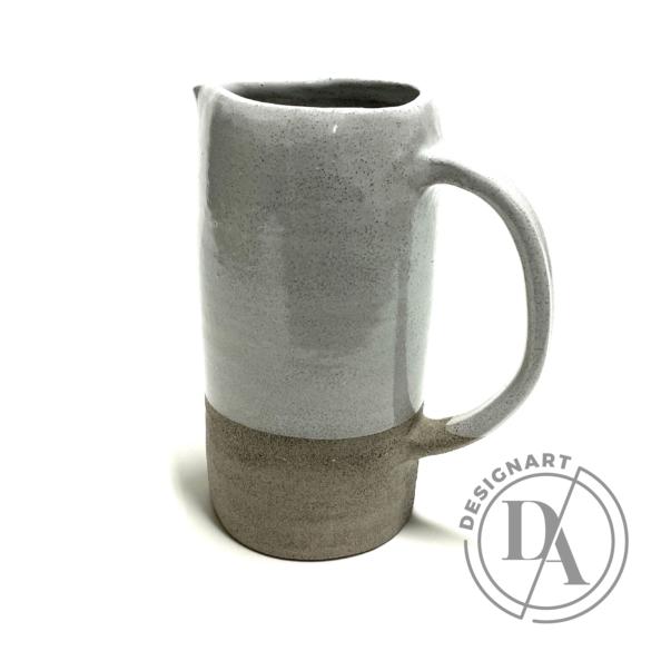 Pastel Ceramics:  Szürke kancsó / magasság 18cm