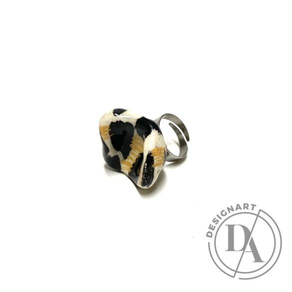 Pebble: Kerámia gyűrű nr.10