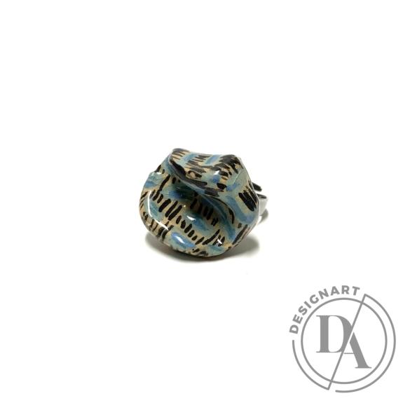 Pebble: Kerámia gyűrű N.11