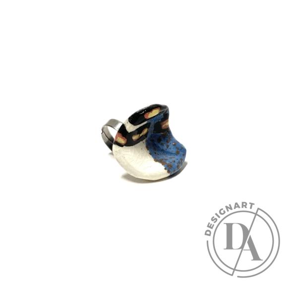 Pebble: Kerámia gyűrű N.6