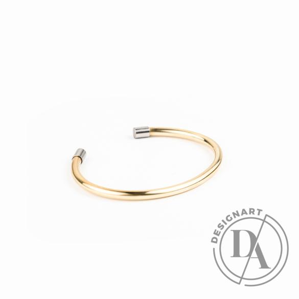 Personal Perception: Pretz Brass sárgaréz karkötő / Közepes méret, Vékony 3mm