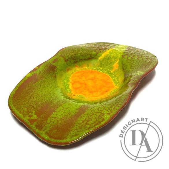 Rasa Ceramicart: Ősz tál / ø34cm